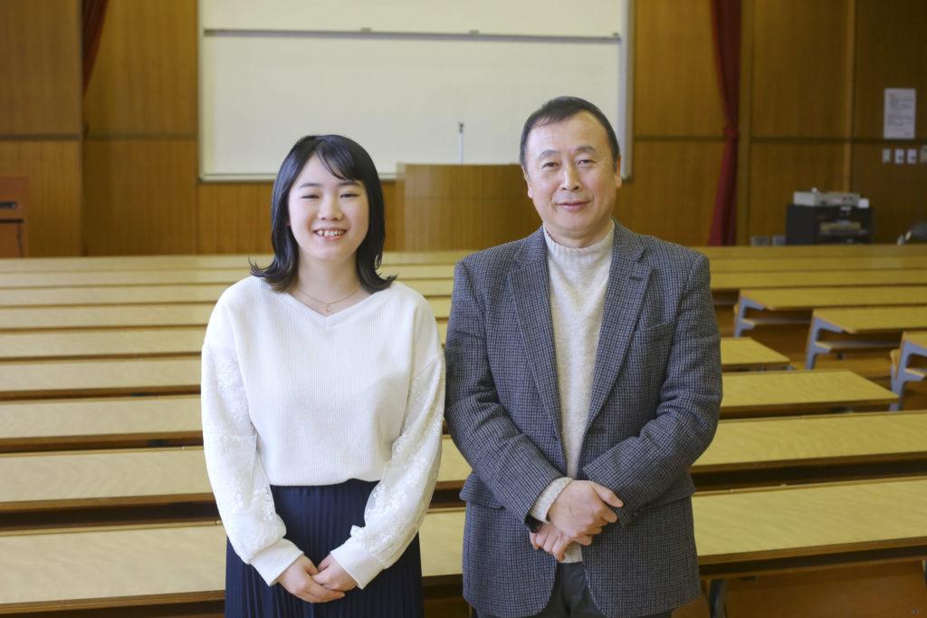 鎌田さんと趙教授