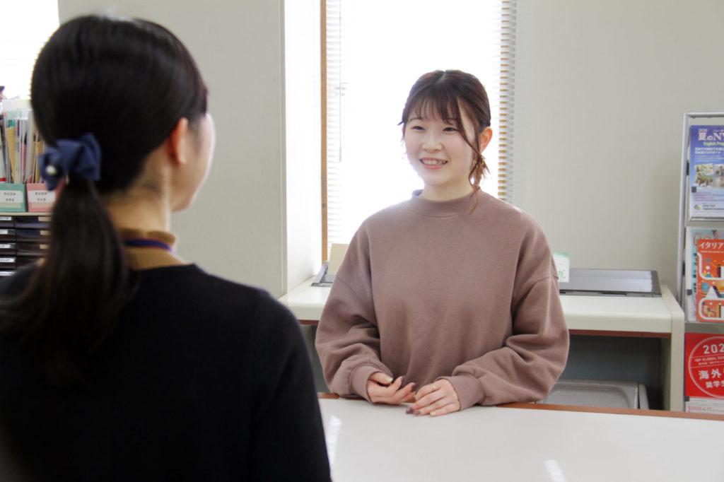 【学生インタビュー】自分の知らないところまで見てもらえる安心感