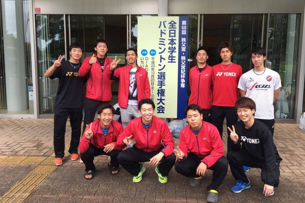 【敬和スポーツ】バドミントン部が全日本学生バドミントン選手権大会でべスト16となりました