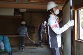 東日本大震災被災地へのボランティア