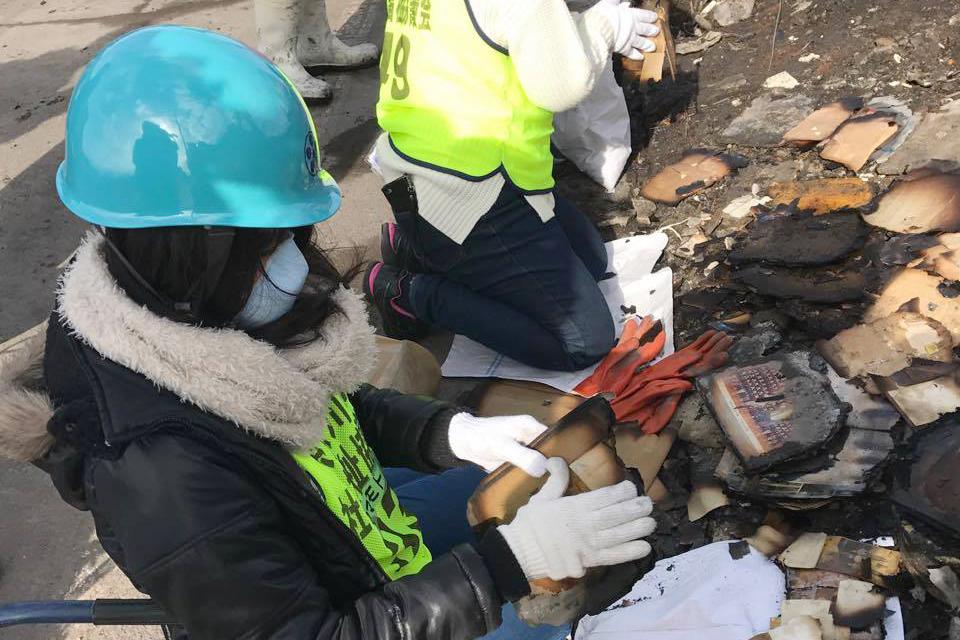 糸魚川大規模火災ボランティアに参加してきました