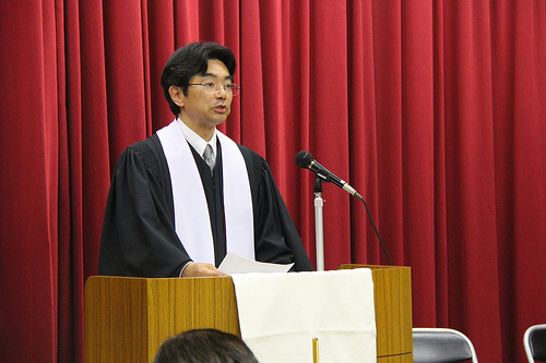日本基督教団教務教師任職式