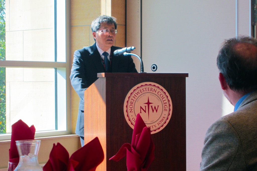Welcome Party Address at Northwestern College