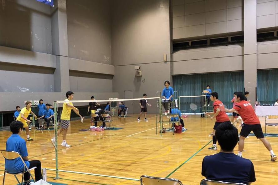 【敬和スポーツ】西日本学生バドミントン選手権大会で小川・柴田ペア(敬和学園大学)が優勝しました