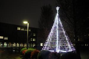 クリスマスツリー点灯式を行います(11月30日)