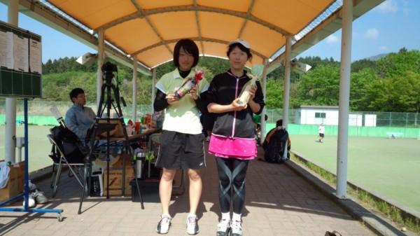 【敬和スポーツ】胎内市テニスオープンで、五十嵐さん(国際文化学科1年)が優勝!