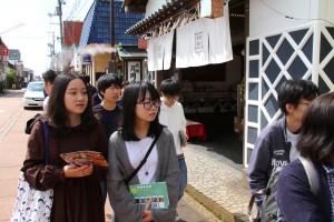 【チャレンジ学生57】日本での授業を楽しんでいます