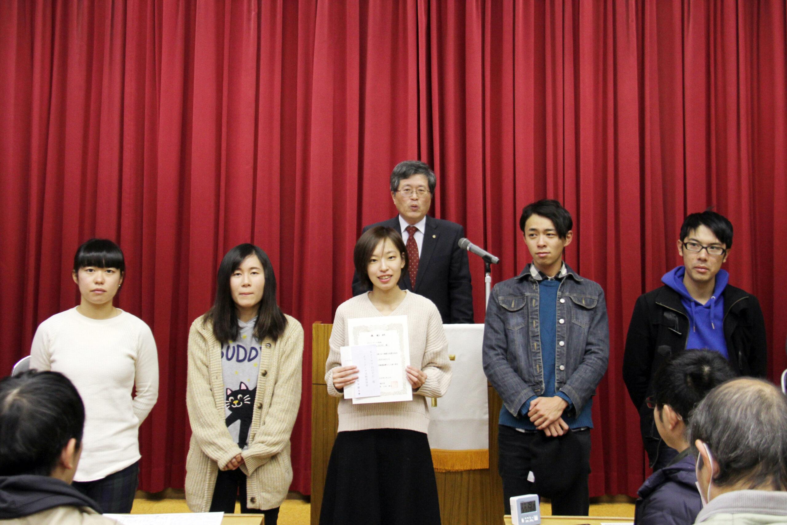 さまざまな学生表彰が続きました