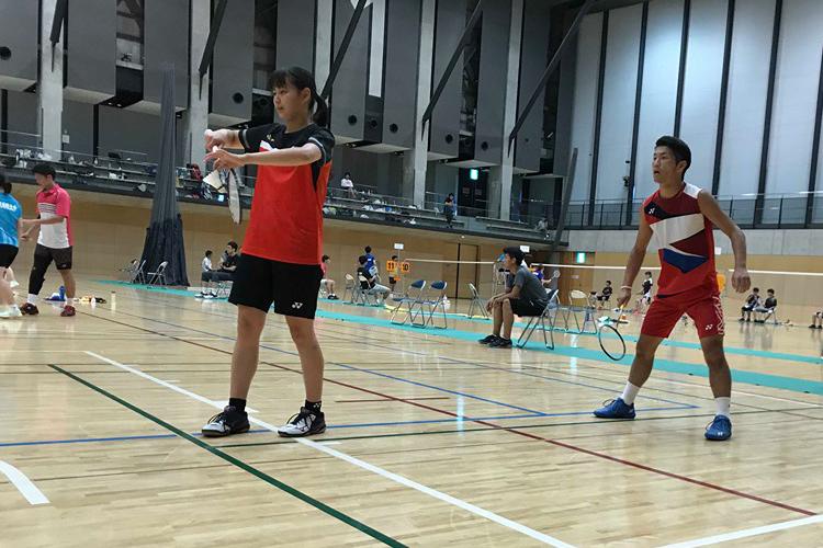 【敬和スポーツ】第66回北信越学生バドミントン選手権大会で男子シングルス優勝しました