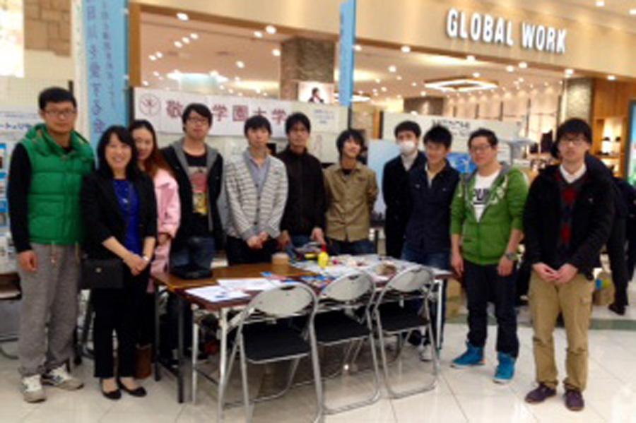 【ゼミ】学生が市民のエコ生活を促進、「エコカーニバル」に参加しました(房)