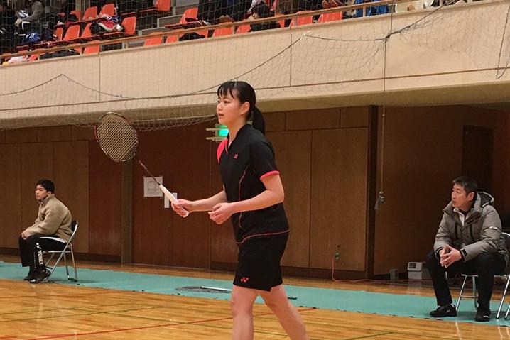 【敬和スポーツ】第26回北信越学生バドミントン新人選手権大会で女子シングルス4位入賞しました
