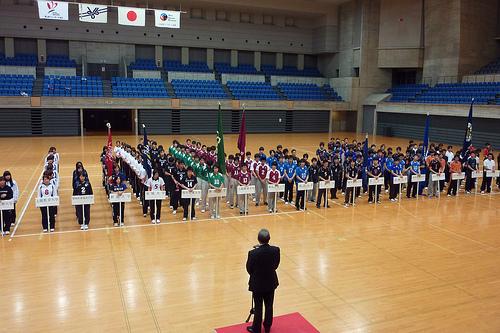 【敬和スポーツ】男子バレーボール部が北信越大会に出場