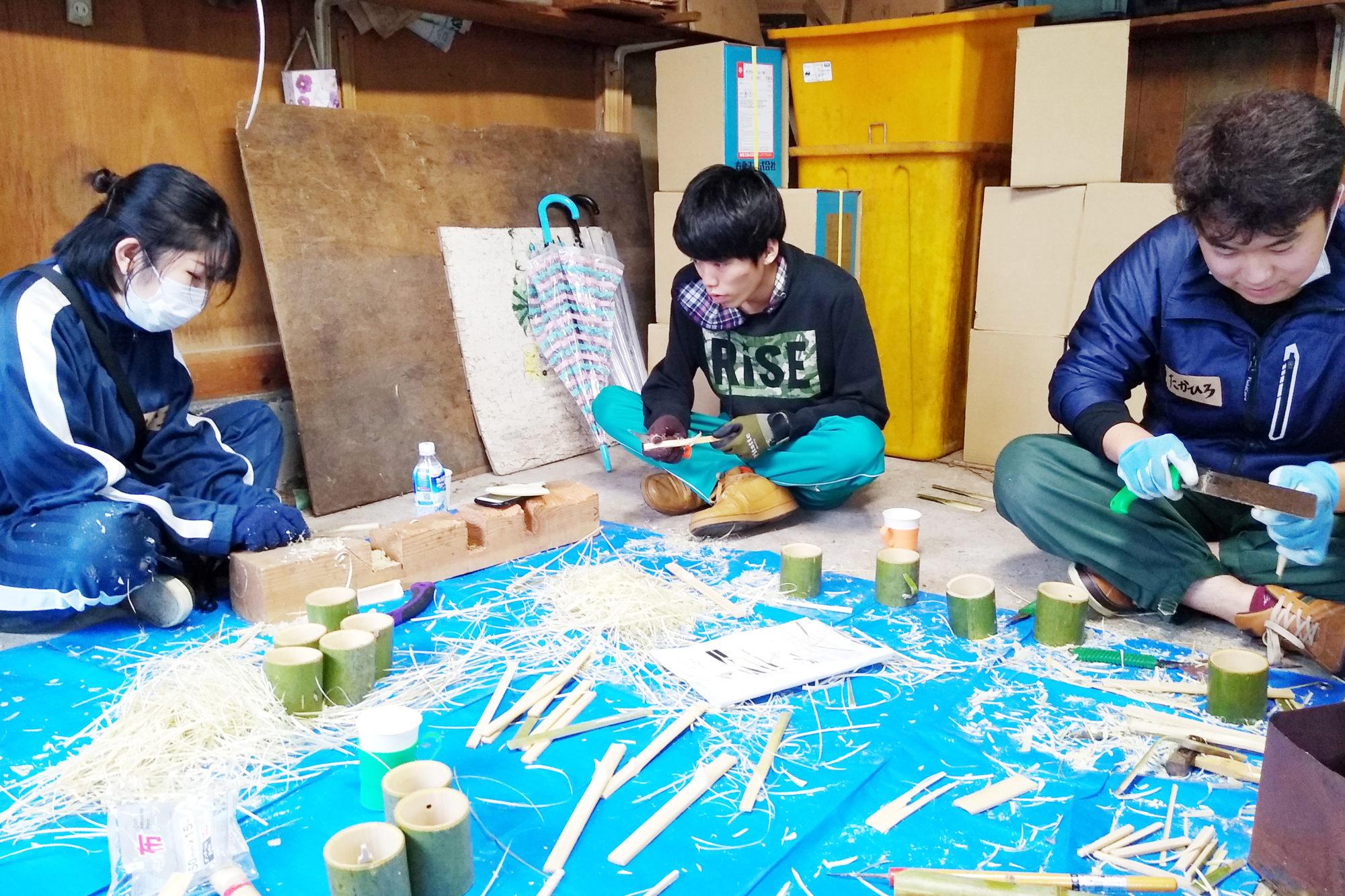 長坂ゼミによる佐渡・宿根木集落活性化事業の取り組み