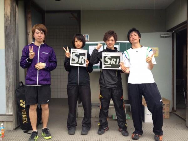 【敬和スポーツ】下越テニス大会で、五十嵐さん優勝、高山さん準優勝!
