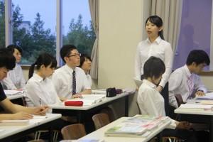 教職課程反省会に参加してきました~!
