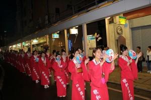 新発田まつり民謡流しに参加しました