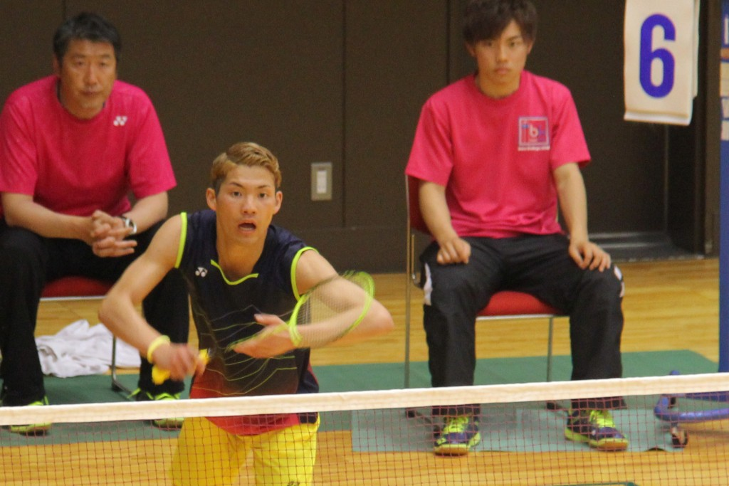 【敬和スポーツ】えひめ国体バドミントン競技で本学小川桂汰さん所属の埼玉県が3位入賞