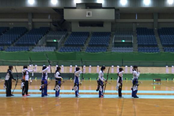 【敬和スポーツ】敬和学園大学の学生がインカレアーチェリーインドア大会に出場しました