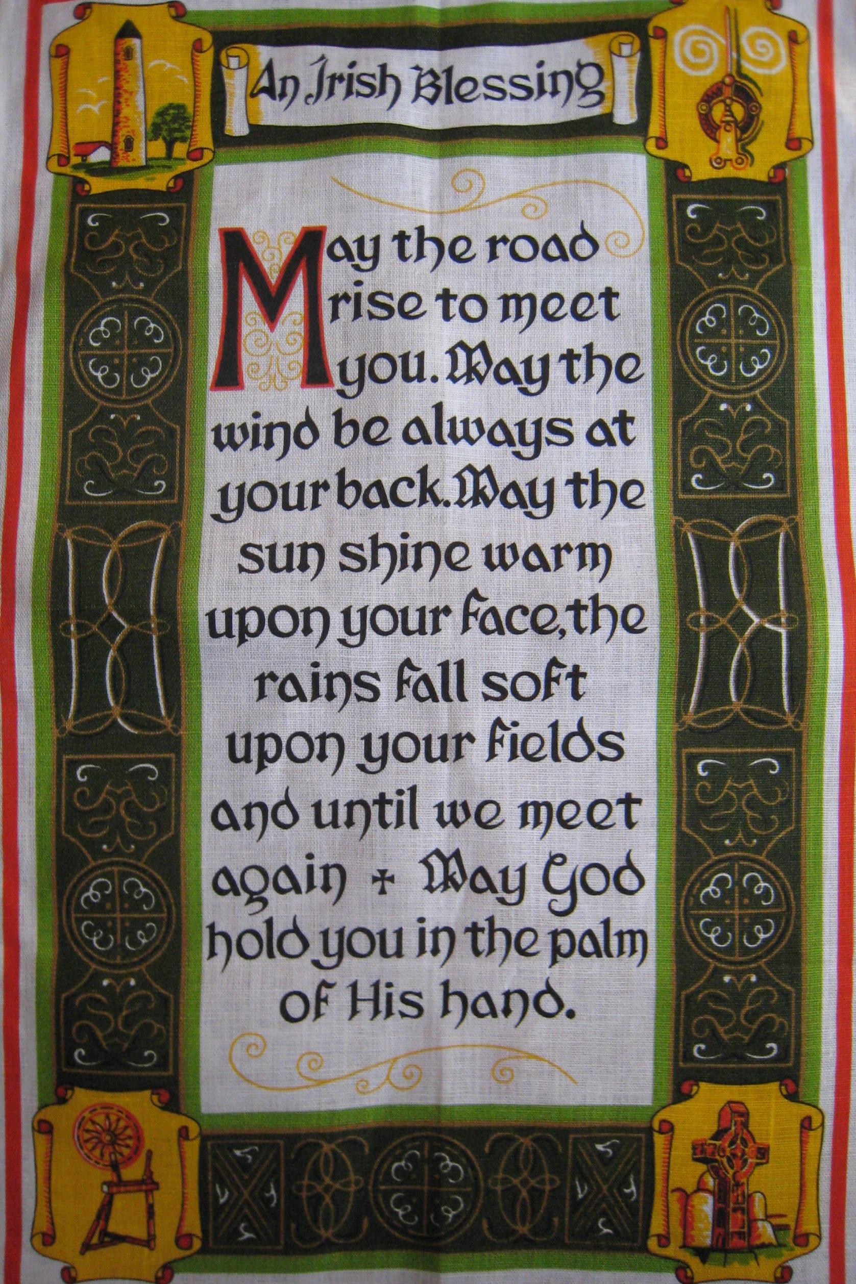 アイルランドの祝福