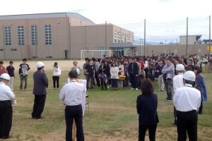 【学生・教職員向け】避難訓練の実施について(10月25日)
