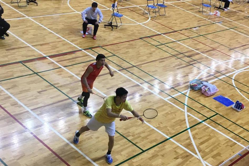 【敬和スポーツ】全日本学生バドミントン選手権で小川・柴田ペア(敬和学園大学)が8位入賞
