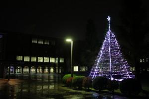 クリスマスツリー点灯式を行います(11月25日)