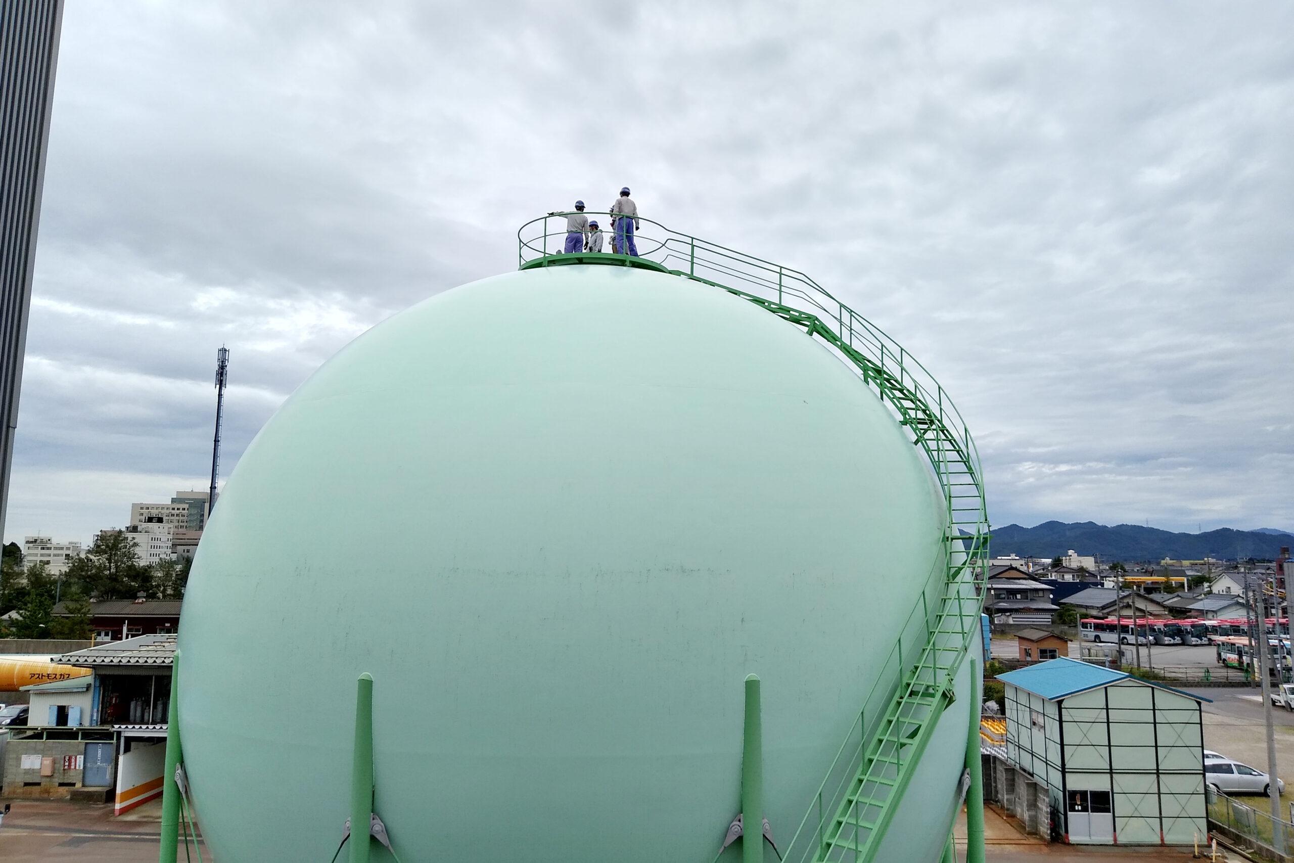 「地域学」で新発田ガスさまを見学しました