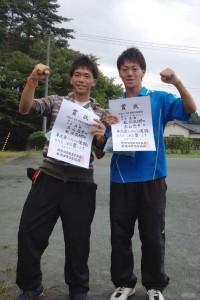【敬和スポーツ】新発田市市民総合体育大会テニスで、高山・板垣ペアが優勝!