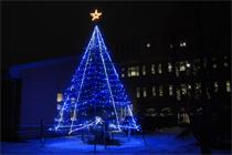 クリスマスツリー点灯式を行います(12月2日)